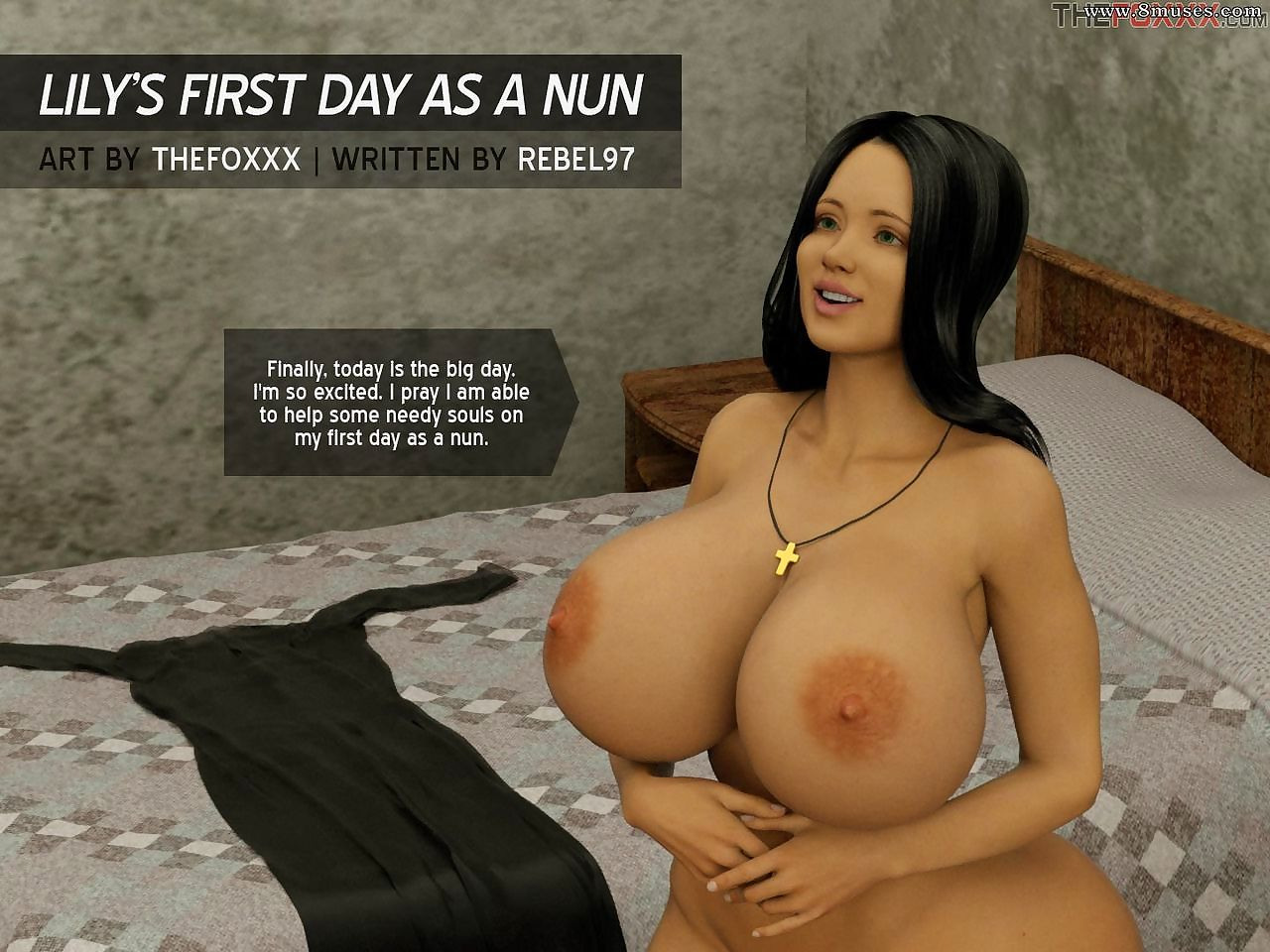 Someone\'s skin FOXXX - Lilys Chief Phase as A a Nun
