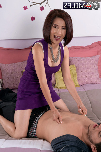 Melodious eastern kim anh penetrated in cum-hole and rectal hole