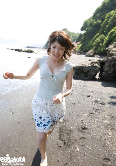 Japanese girly outdoors