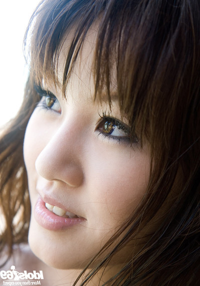 Hawt Japanese princess show her valuable cheery melons and curly gentile