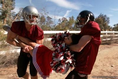 Revenge of the cheerleader!