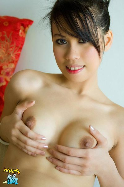 This Thai hottie named Eye yep an terrific body that
