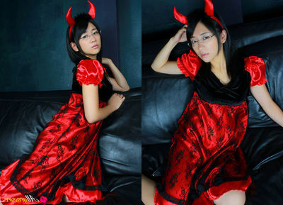 Ami Tokito Eastern can be hot devil and Santa hottie the same day