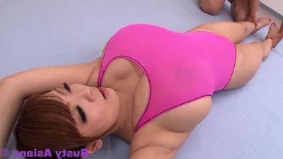 Fucking vast breasted eastern hitomi tanaka inflexible pink body