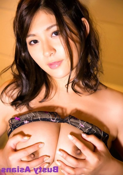 Megu fujiura  posing as was born enormous whoppers in the bedroom wearing sexy pants