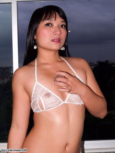 Eastern amateur model in raunchy bikini
