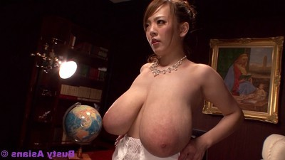 Thug love melons porn star hitomi tanaka penetrated by boss in office