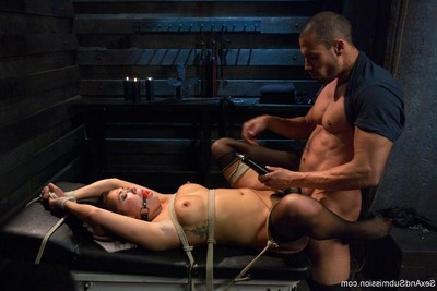 Appealing eastern masseuse receives united up, a-hole hooked and anal dug