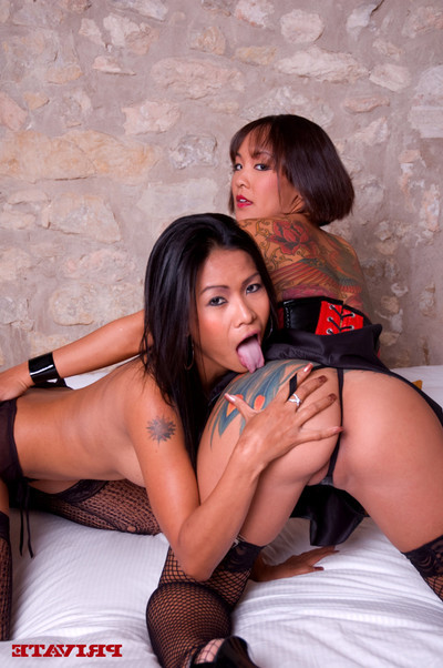 Oriental act of love secretas from priva and jandi lin in barcelona porn sc