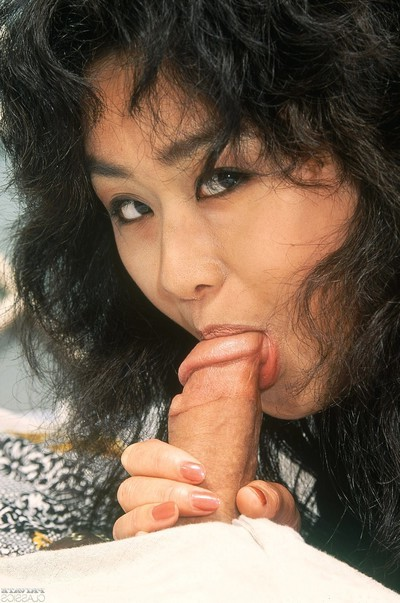 Chinese geisha drilled in her curly snatch and anal opening in anal 3