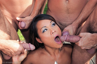 Japanese prostitute jade sin fucked in group in all holes