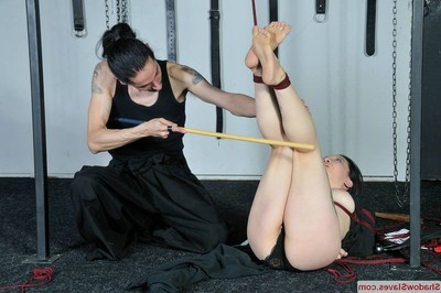Devils eastern foot fixation and japanese sole whipping of deviant orienta
