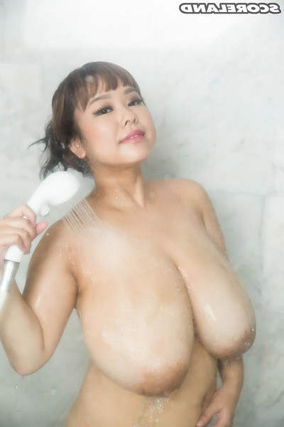 Japanese lass pchan in the eastern vast tit scene