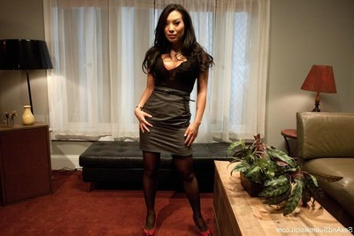 Asa akira, the sexiest oriental in the grown up porn industry, attains massive tough sex,