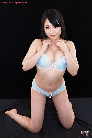 Nice-looking Japanese female uncovers her meatballs in advance of tugging on a shlong