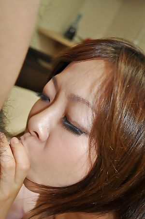 Japanese amateur Chika Matsura attains her wavy cage of love nailed and creampied
