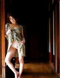 Bawdy Chinese pretty erotic dancing off her clothing and lacy underclothes