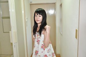 Chinese 19 girl Yuka Kojima undressing and pleasant bathroom