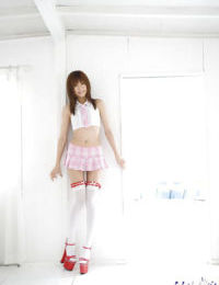 Fabulous Chinese coed with unshaved fur pie Kotone Aisaki revealing her petite bends