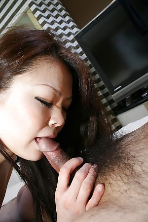 Dirty eastern adolescent Mio Yamauchi has some nasty pleasure with a lustful boy