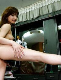 Nice-looking Japanese dear An Nanba showcasing her fuckable body