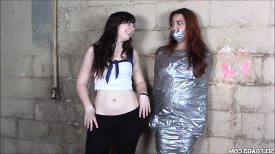 Oriental boystealer mummified in duct tape