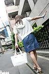 Japanese darling gives fellatio
