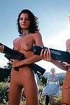 Sicilian mafia girlz benefits from screwed in dangerous fuckfest