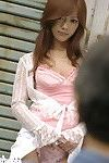 Japanese princess outside