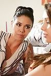 Dana vespoli and jenna sativa girl-on-girl stepmother