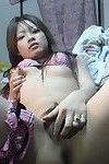 Mega dripping moist and savoury Japanese lasses posing exposed