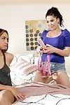 London keyes and sara luvv female-on-female adventures tie on specialists