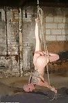 Skinhead japanese slavegirl kumimonsters conformation and suspension in the s&m playroom