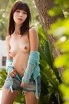 Marica hase sensually erotic dance stripped in the garden