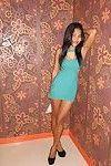 Damp thai milf prostitute bonked no rubber risky bareback Japanese floozy banging