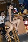 Black hair thai hooker bareback drilled in her vast Japanese twat cavern by a sexual act t