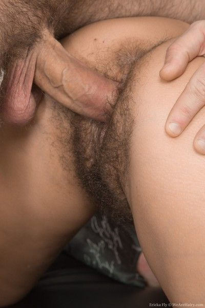 Ericka dart gets fucked increased hard by cummed not susceptible hard by her man