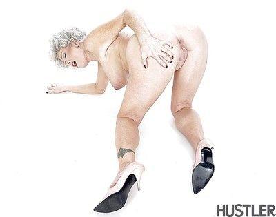 Of age pornstar Darla Crane exhibitionism titanic granny hooters