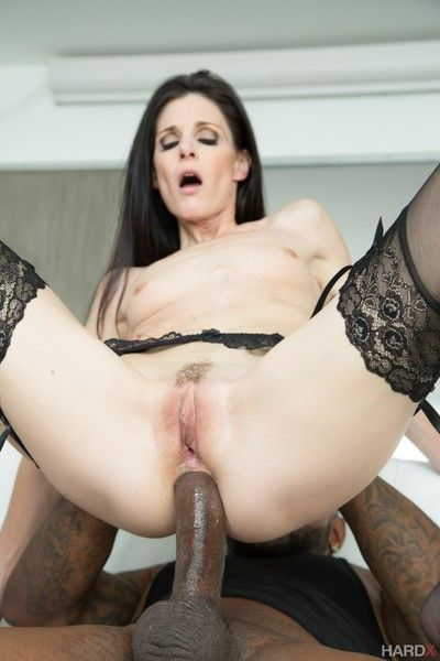 India summer and rico stout-hearted interracial anal