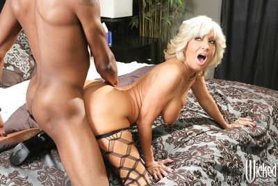 Of age pornstar Tara Fare well is having an interracial sex