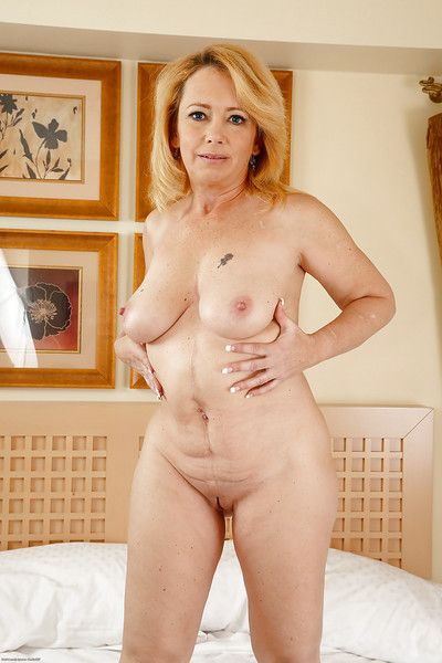 Mature chick Brandie Beloved is demonstrating her gorgeous holes