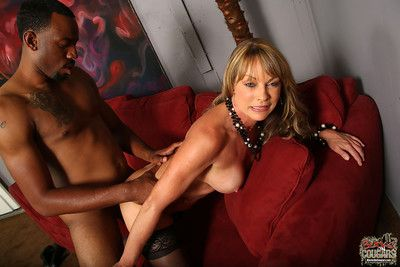 Shayla laveaux riding on a big black unearth
