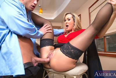 Brandi Love knows how on earth nearly obtain a younger man nearly lose one