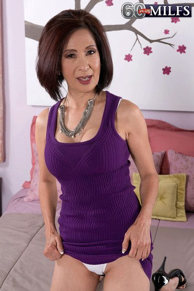 Mature asian kim anh fucked in pussy added to asshole