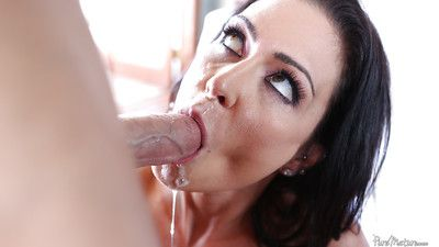 Dazzling grown up Latina Jessica Jaymes is sucking this helter-skelter unearth