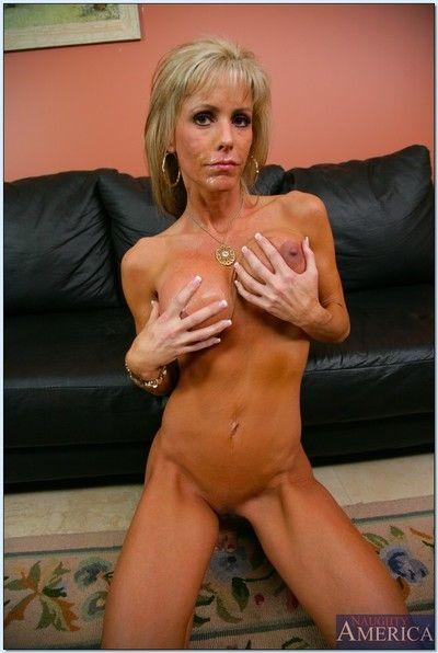 Chunky titted adult Jordan Lynn gets her lean congregation impaled on a hard Hawkshaw