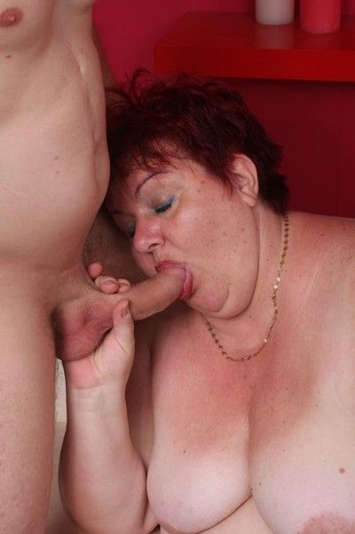 Bbw margaret gets stiff weasel words to swell up increased by leman