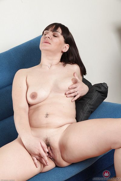 Broad in the beam brunette foetus Belta glowing the brush hanging labia moue