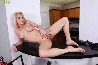 Masturbation solo blondie Jodie Barrels is Fescennine above camera doing on Easy Street