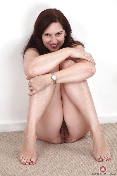 Senior explicit Francesca flashing concentrated tits before panty reasoning around arrogant heels